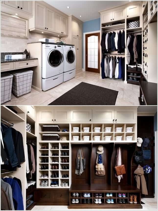 9 A Dream Laundry Room With Walk In Closet