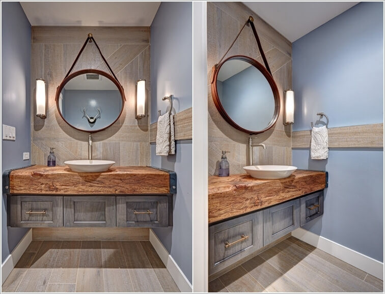 10 Awesome Ways To Style A Bathroom Mirror