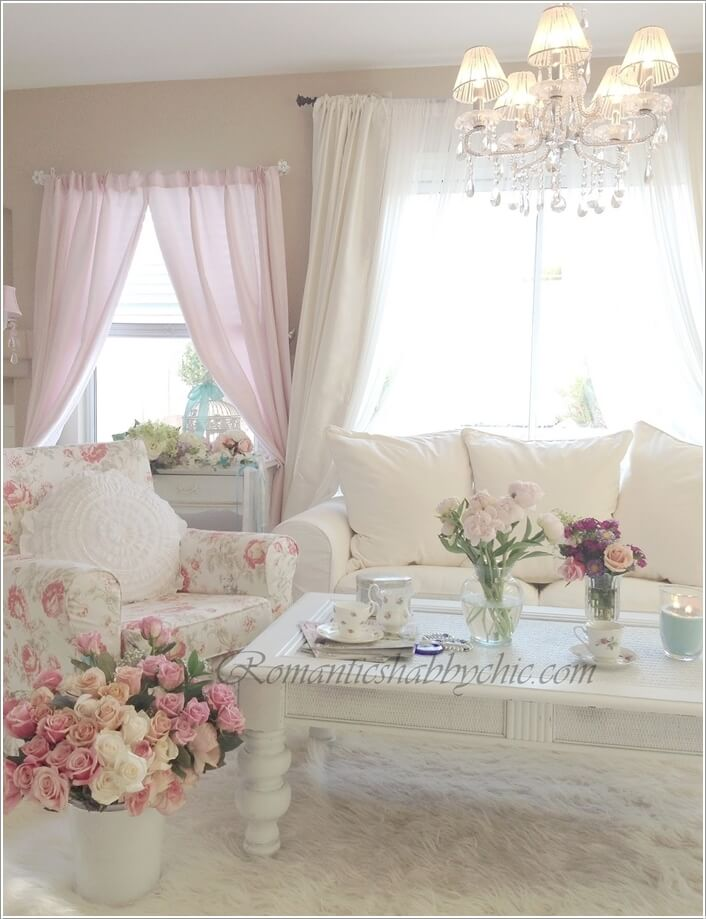 10 Amazing Ways To Design A Romantic Living Room