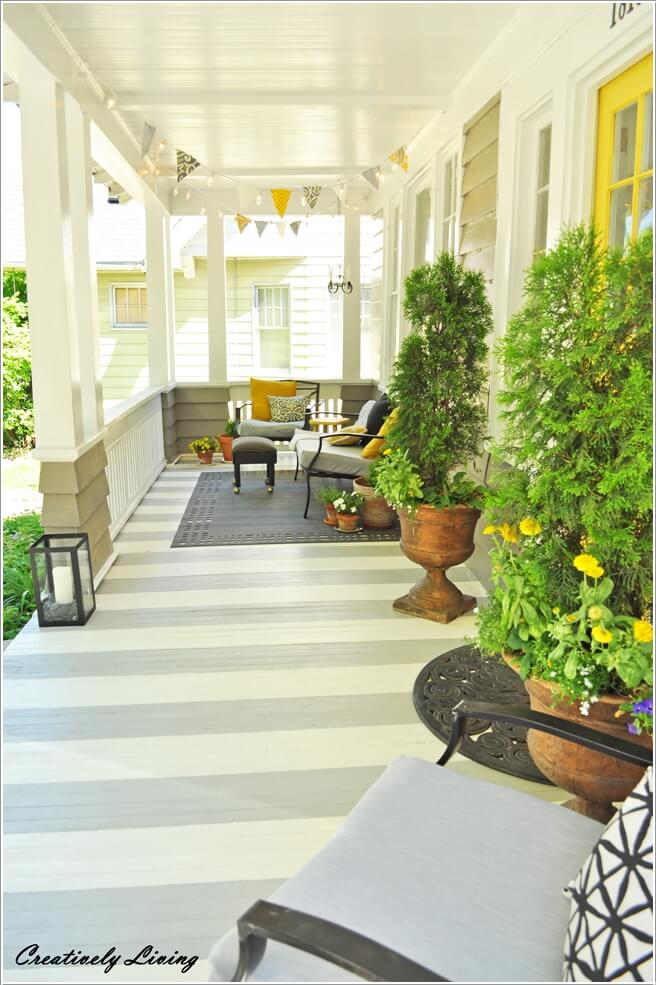 9  15 Inspiring and Unique DIY Projects for Your Front Porch 95