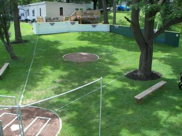 A Wiffle Ball Stadium
