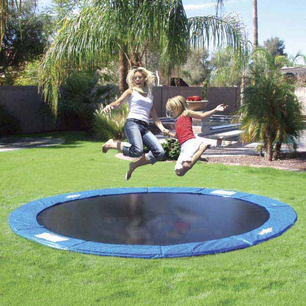 An In-Ground Trampoline