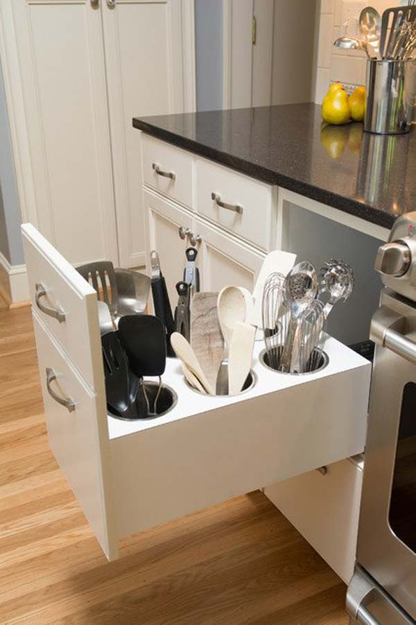 Canisters for Utensil Drawer