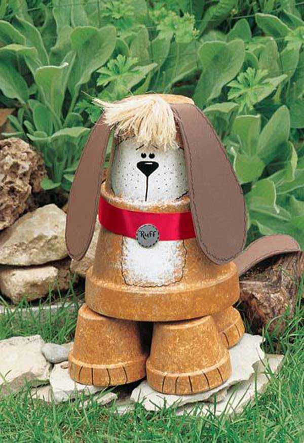 Clay pot Watchdog