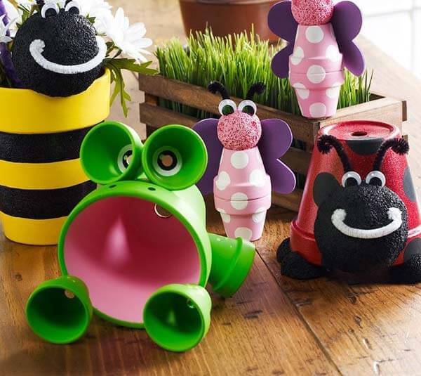 Clay pot critters
