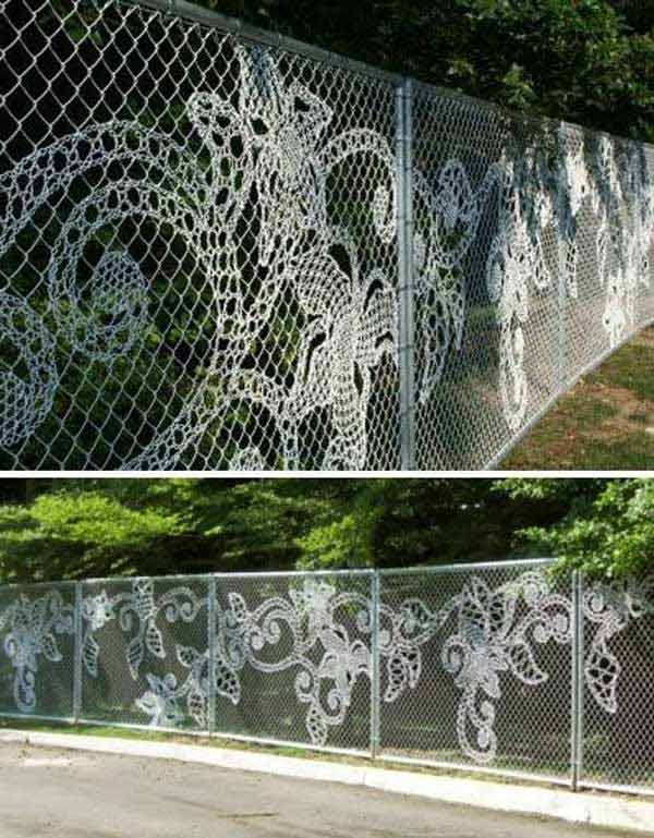 Superbly creative diy fence design ideas