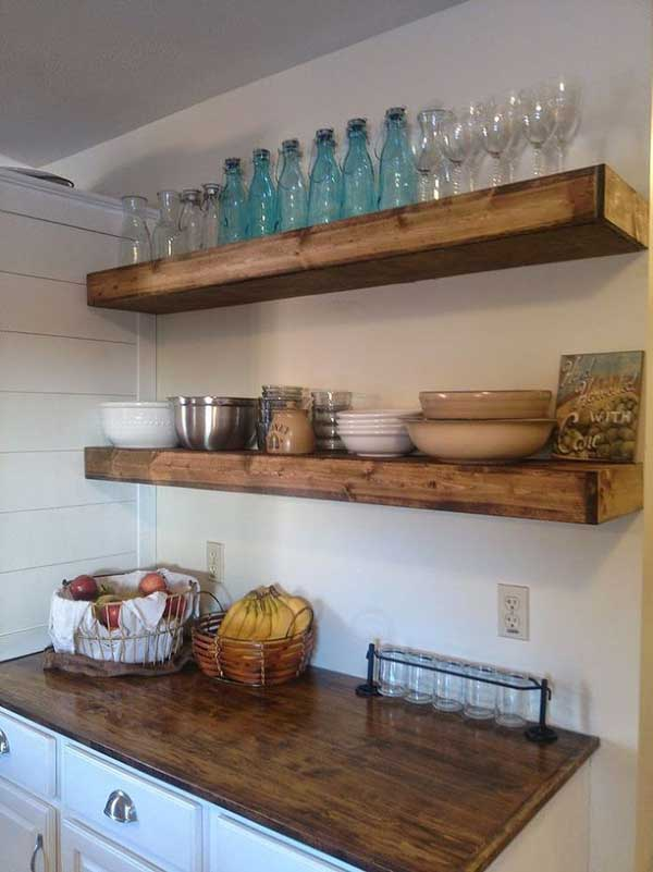 Floating Shelves To Wall