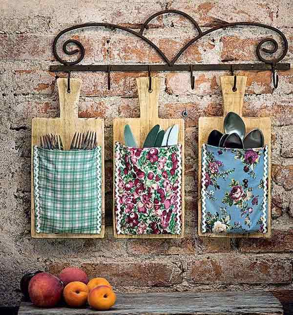 Pockets Made With Old Cutting Boards