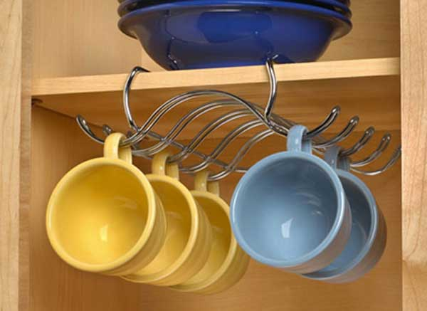 15 insanely cool diy coffee storage ideas for Mug racks ideas