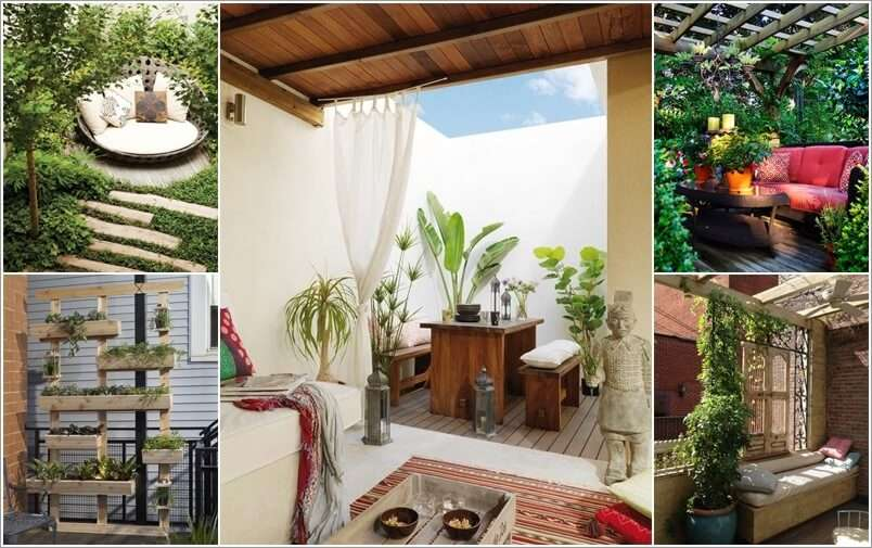 Lovely Small Outdoor Space Ideas Part - 13: Amazing Interior Design