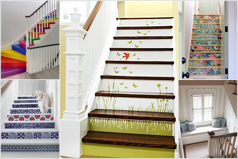 a  15 Inspiring and Cool Ideas to Update Your Staircase a14