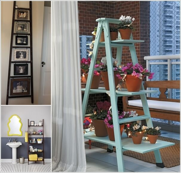 a  10 Things to Display on a Ladder Shelf That You Will Love a24