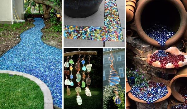 16 Cool And Creative Diy Home Decor Ideas With Sea And Colored Glass