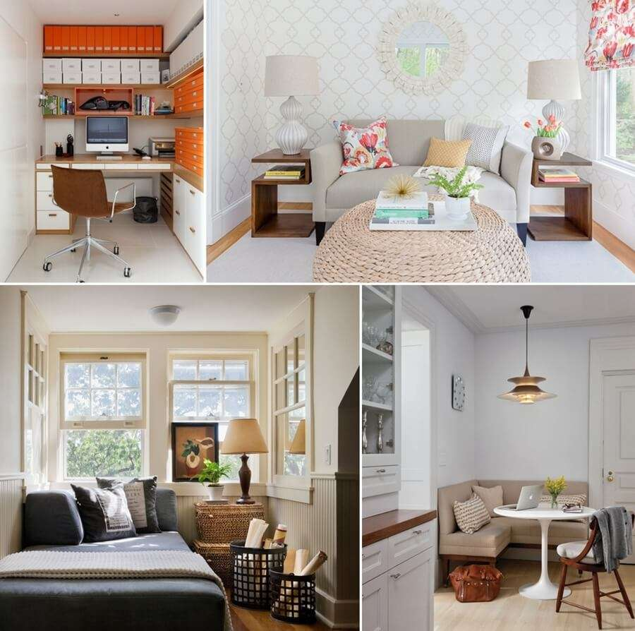 15 clever ideas to decorate a small spare room