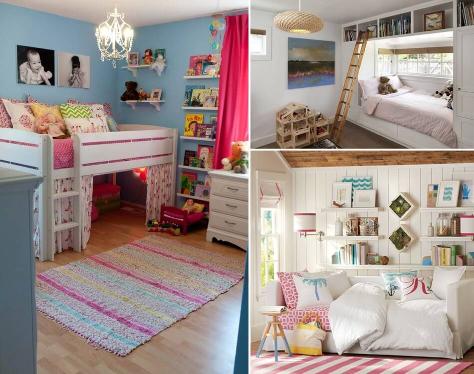 21 clever and space saving ideas for a tiny kids 39 room - Space saving ideas for small kids bedrooms plan ...