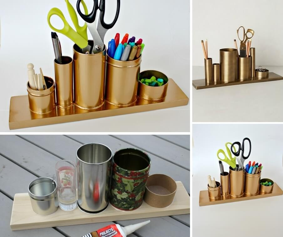 10 cool diy pencil holders for you to make Cool pencil holder ideas