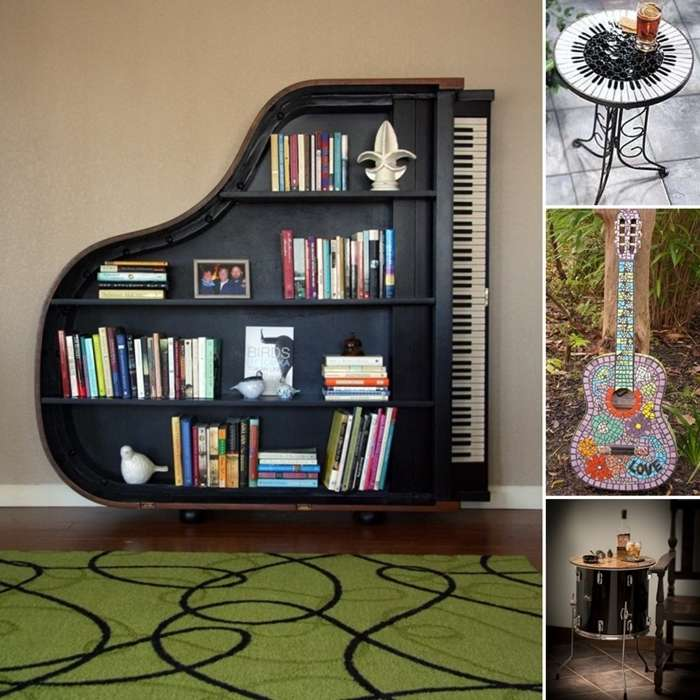 10 Awesome Music Inspired Home Decor Ideas