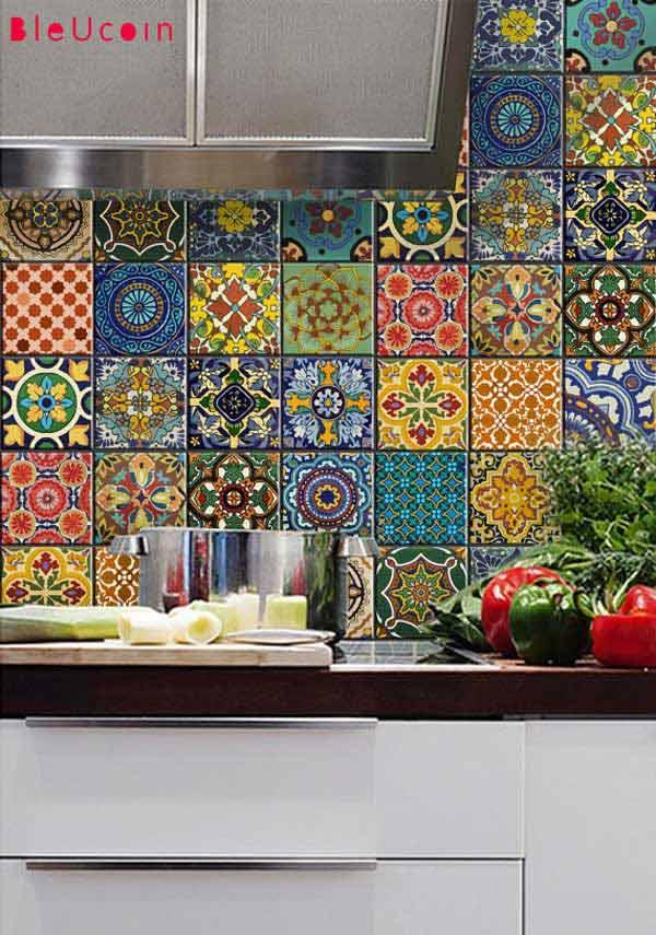 mis-matched tile