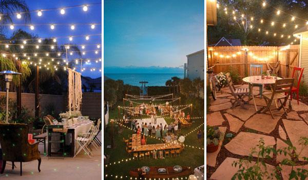 15 Amazing Yard and Patio String Lighting Ideas on Backyard String Light Designs id=90761