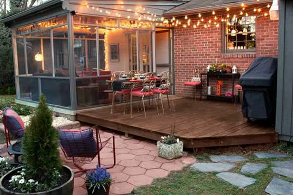 See More Inspiring Ideas Here. Patio Outdoor String Lights Woohome 10 15  Amazing Yard And Patio