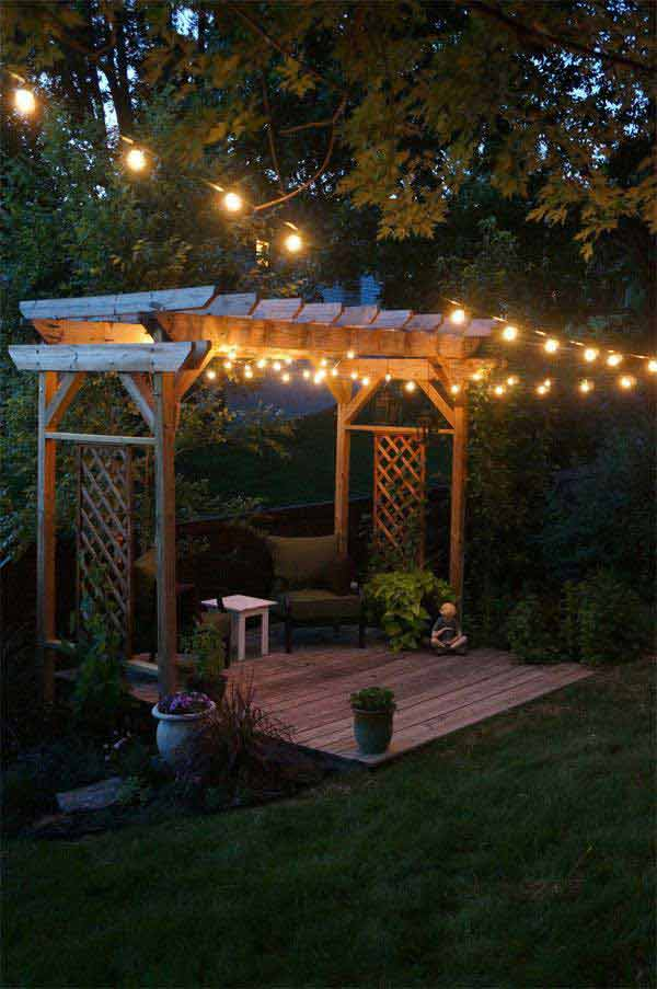 patio lights string ideas find this pin and more on outdoor lighting ideas for decks porches - Patio Lights String Ideas