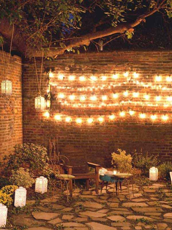 15 Amazing Yard And Patio String Lighting Ideas