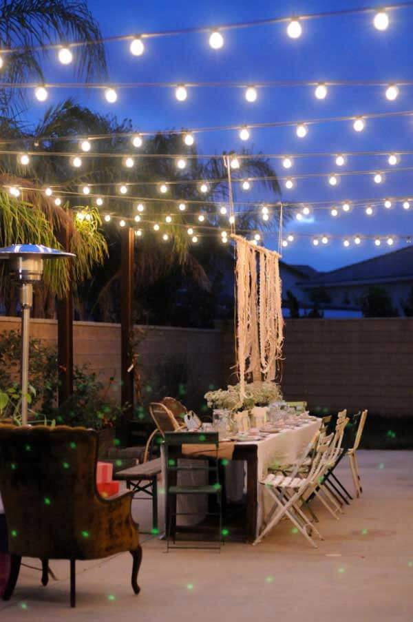 Design With String Lights : 15 Amazing Yard and Patio String Lighting Ideas