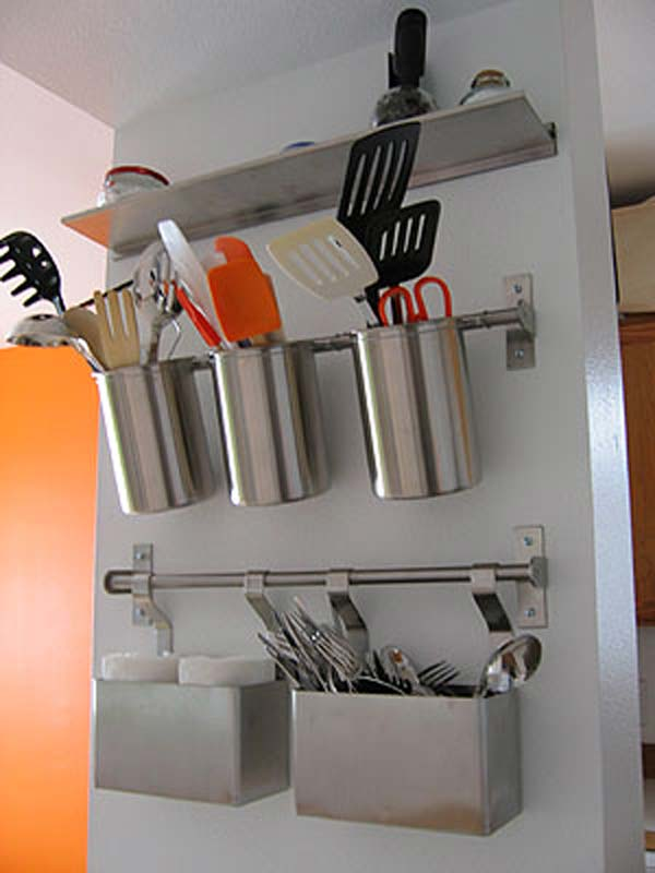 wall storage cans