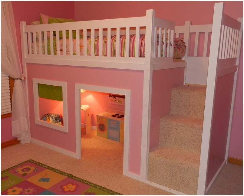 1  10 Amazing DIY Loft Bed Designs for Your Kids' Room 1