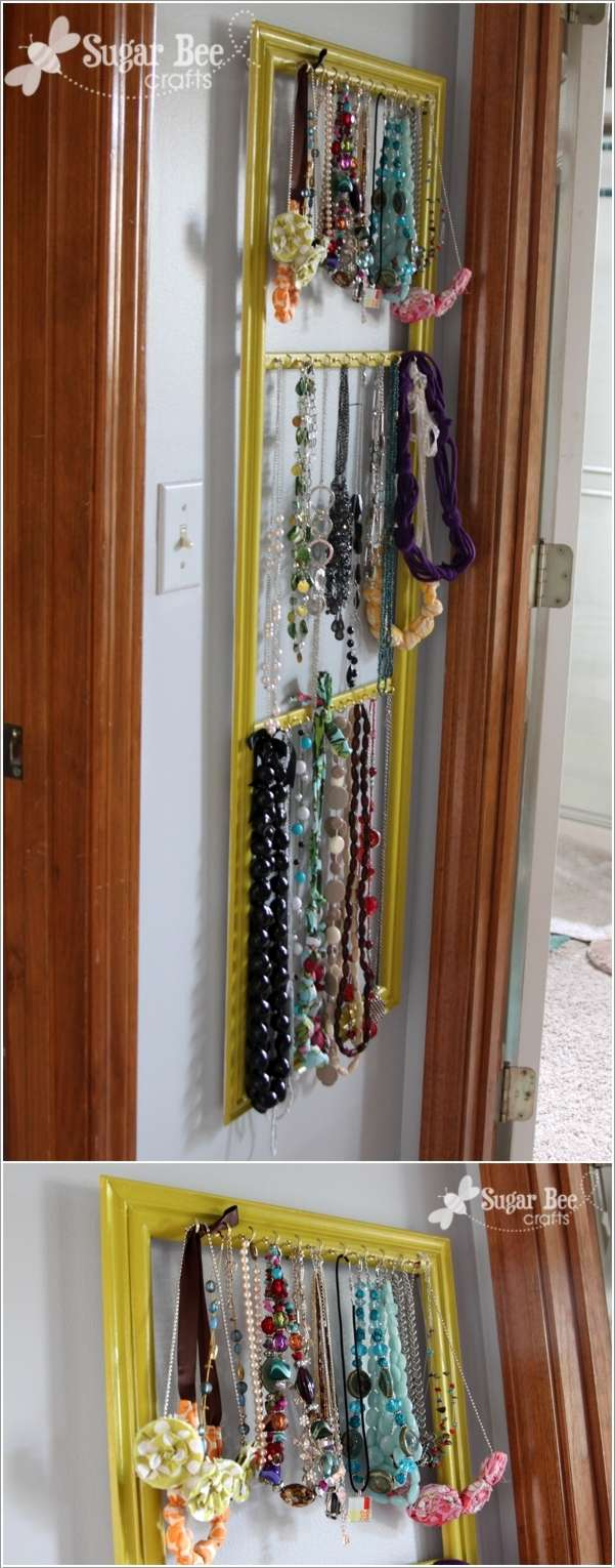 11  15 Creative Ideas to Store and Organize Your Necklaces 1118