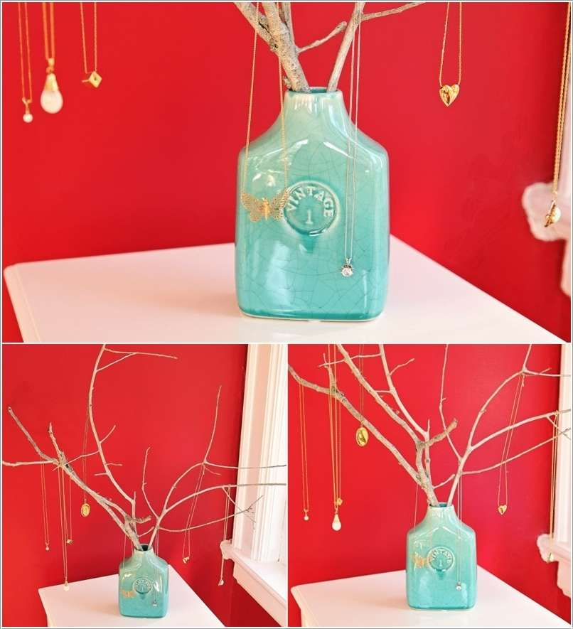 12  15 Creative Ideas to Store and Organize Your Necklaces 1217