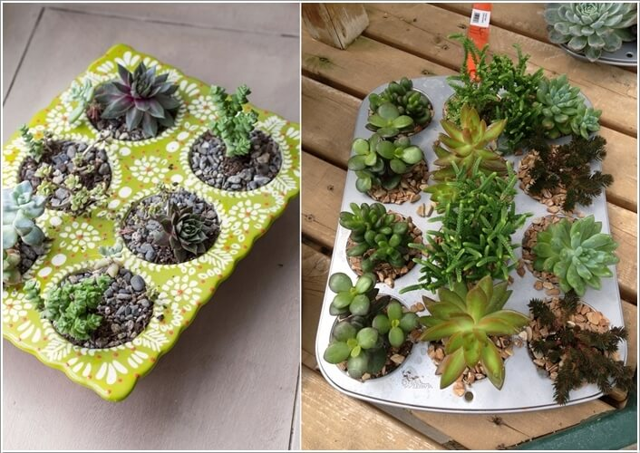 14  15 Creative Planters Made from Recycled Kitchenware 1410