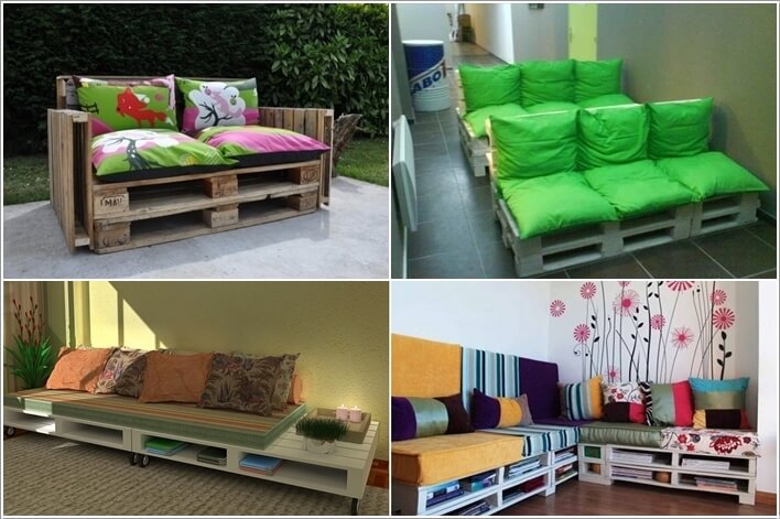 10 Cool DIY Couch Ideas From Recycled Materials
