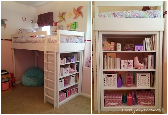 2  10 Amazing DIY Loft Bed Designs for Your Kids' Room 2