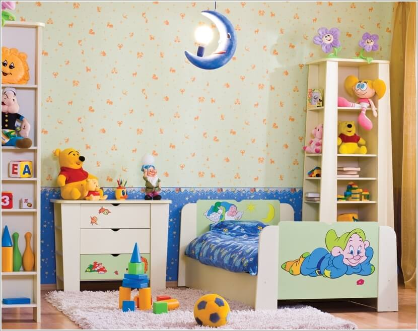 2 & 10 Awesome Toddler Bedroom Storage Ideas