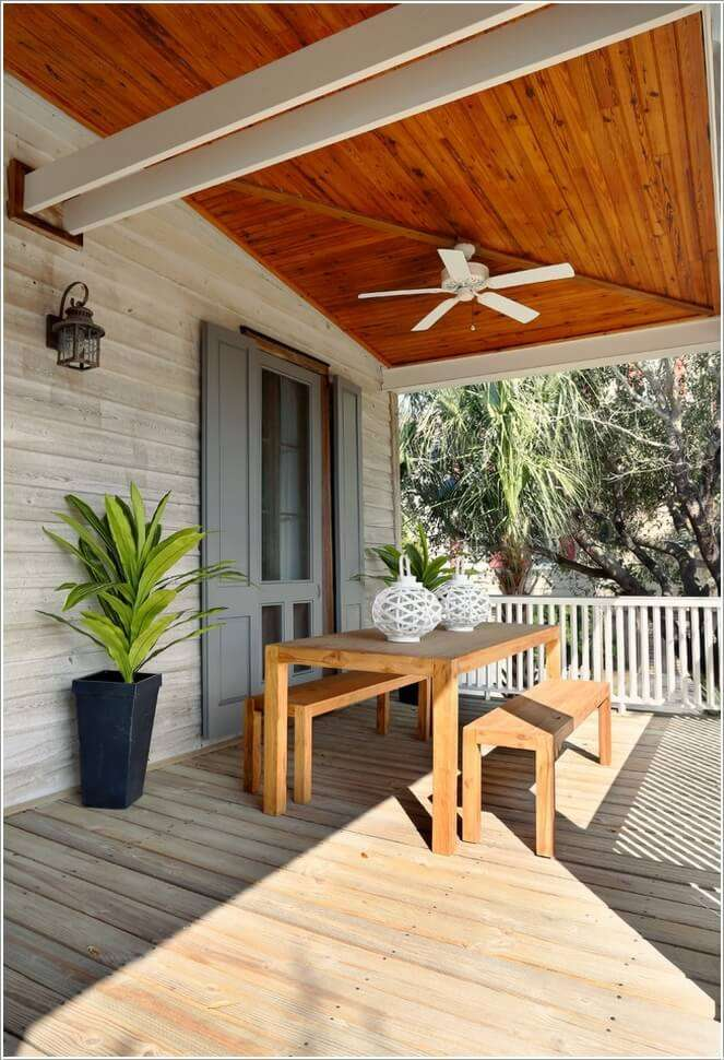 10 Awesome Porch Ceiling Ideas for Your Home