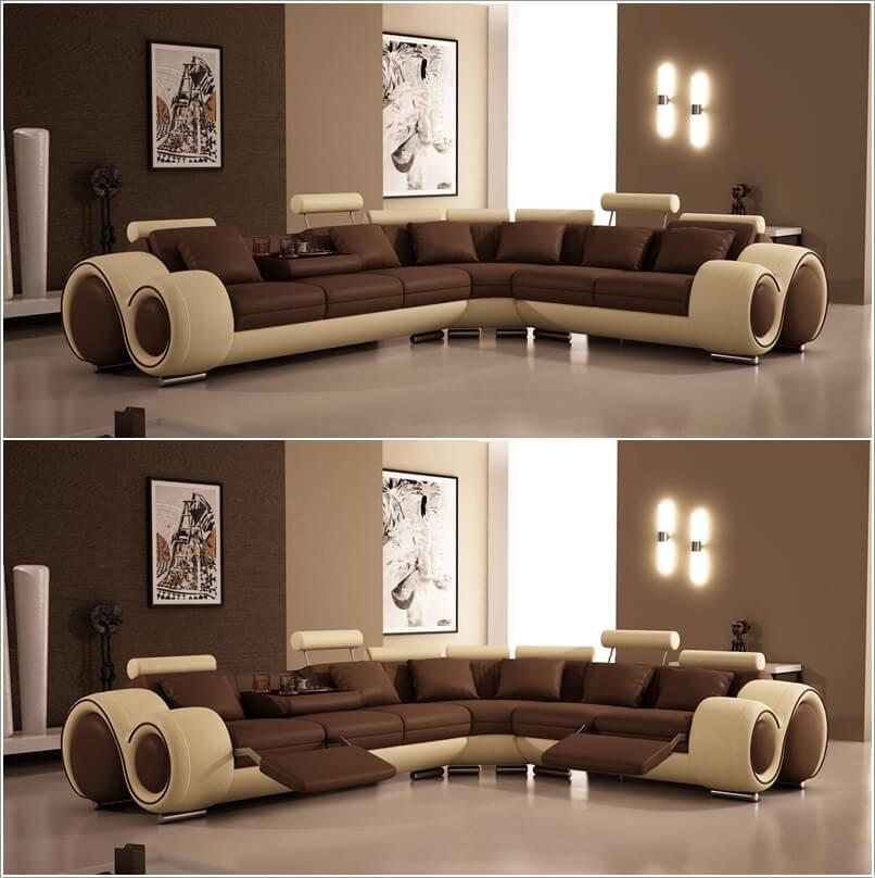 Unique Leather Sofas 10 unique leather sofa designs for your living room