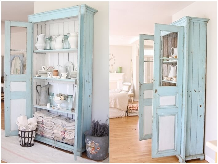 15 wonderful shabby chic home storage ideas interior - Shabby chic storage ideas ...