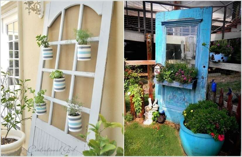 3  10 Clever Ways to Recycle Old Screen Doors 33