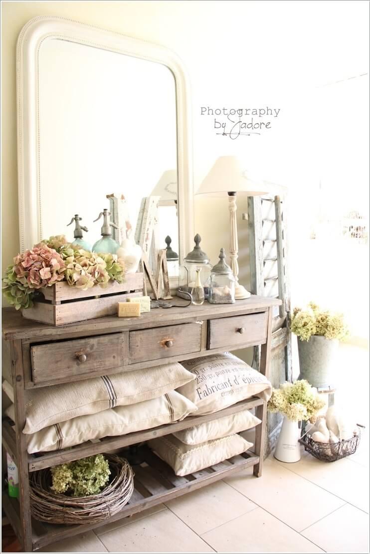 4  15 Wonderful Shabby Chic Home Storage Ideas 416