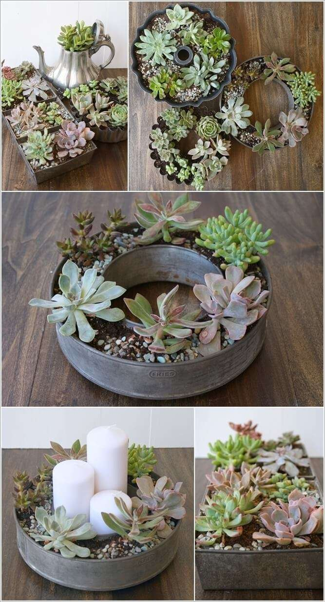 4  15 Creative Planters Made from Recycled Kitchenware 421