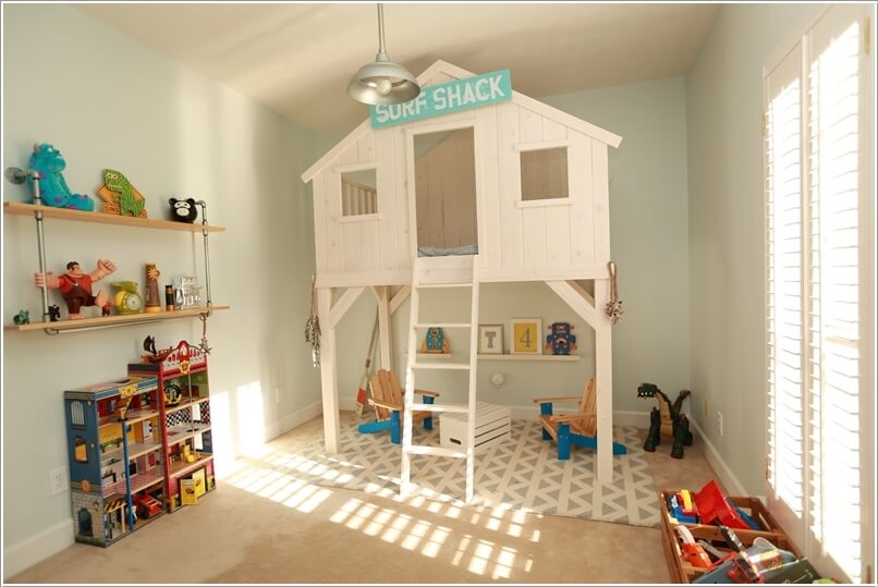 5  10 Amazing DIY Loft Bed Designs for Your Kids' Room 5