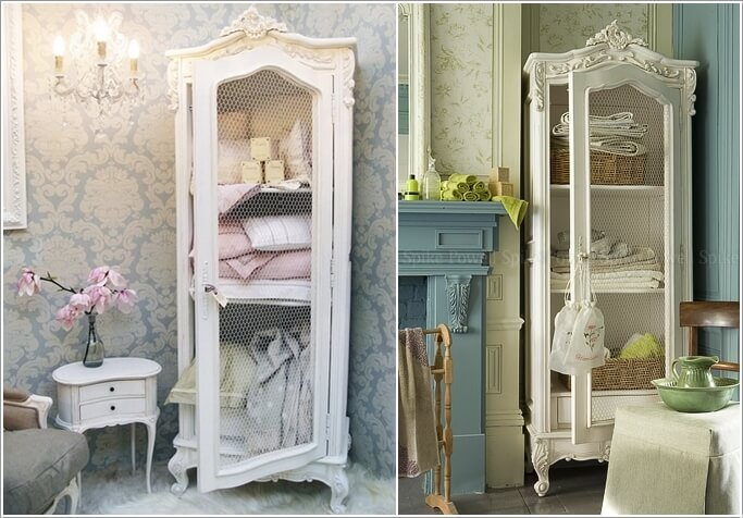 15 wonderful shabby chic home storage ideas - Arredo bagno shabby ...