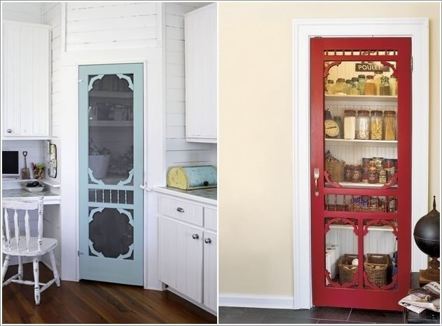 5  10 Clever Ways to Recycle Old Screen Doors 53