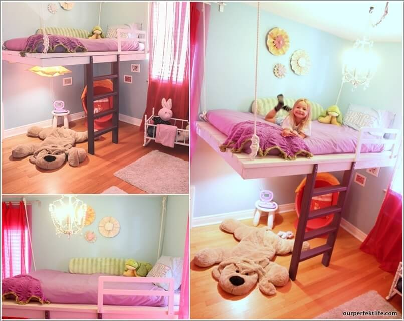 6  10 Amazing DIY Loft Bed Designs for Your Kids' Room 6