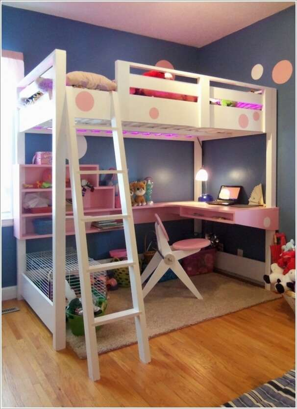 7  10 Amazing DIY Loft Bed Designs for Your Kids' Room 7