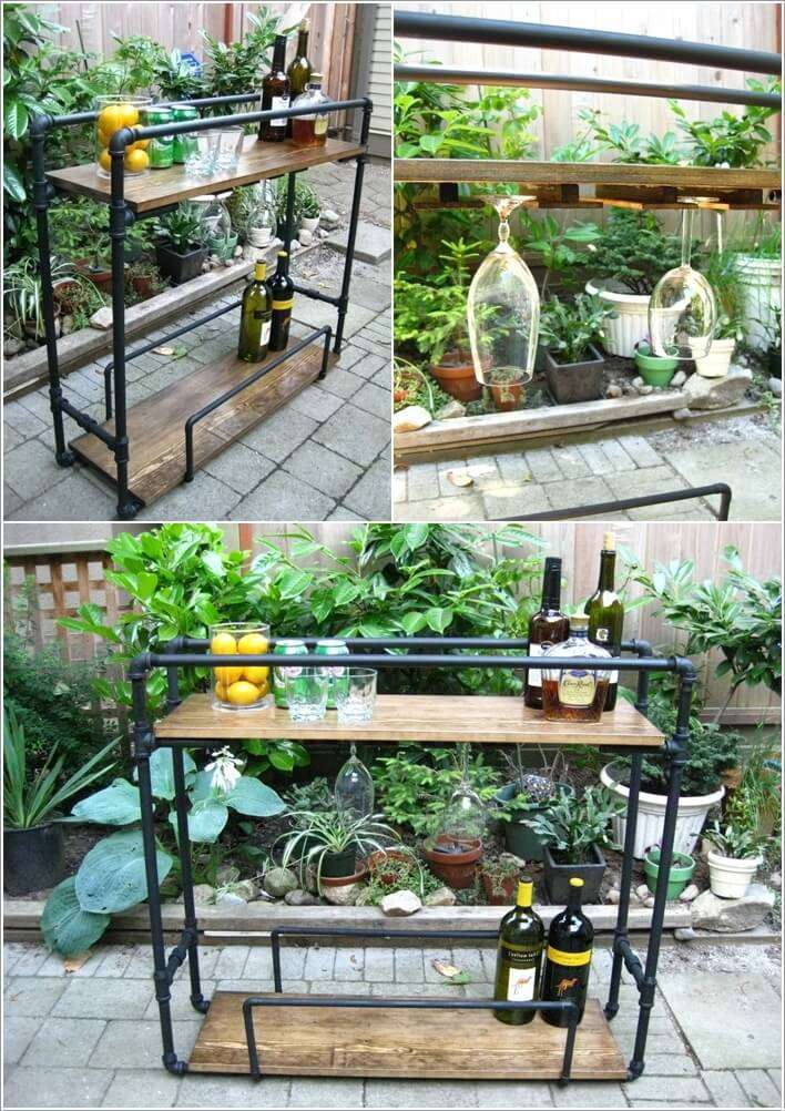 7  15 Cool DIY Metal Pipe Projects for Your Home 724