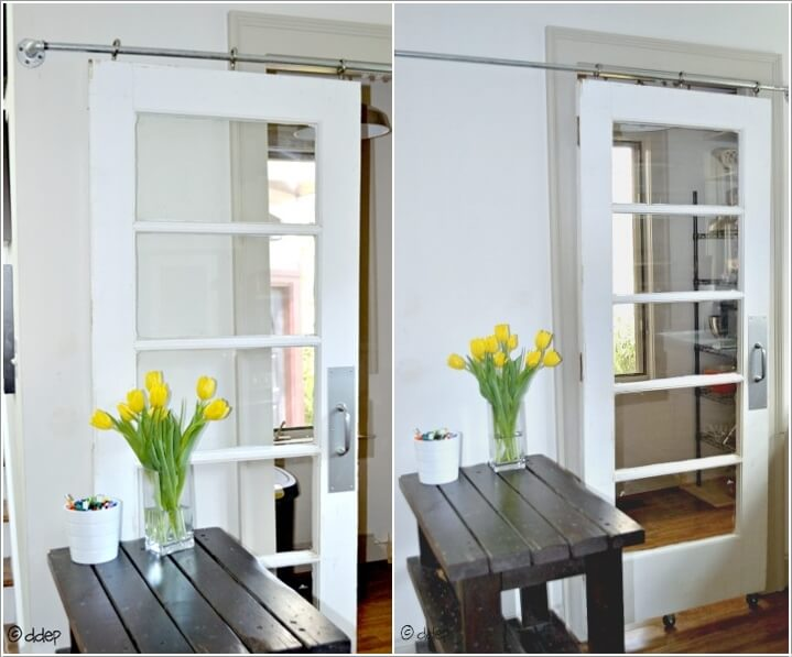 7  10 Clever Ways to Recycle Old Screen Doors 73