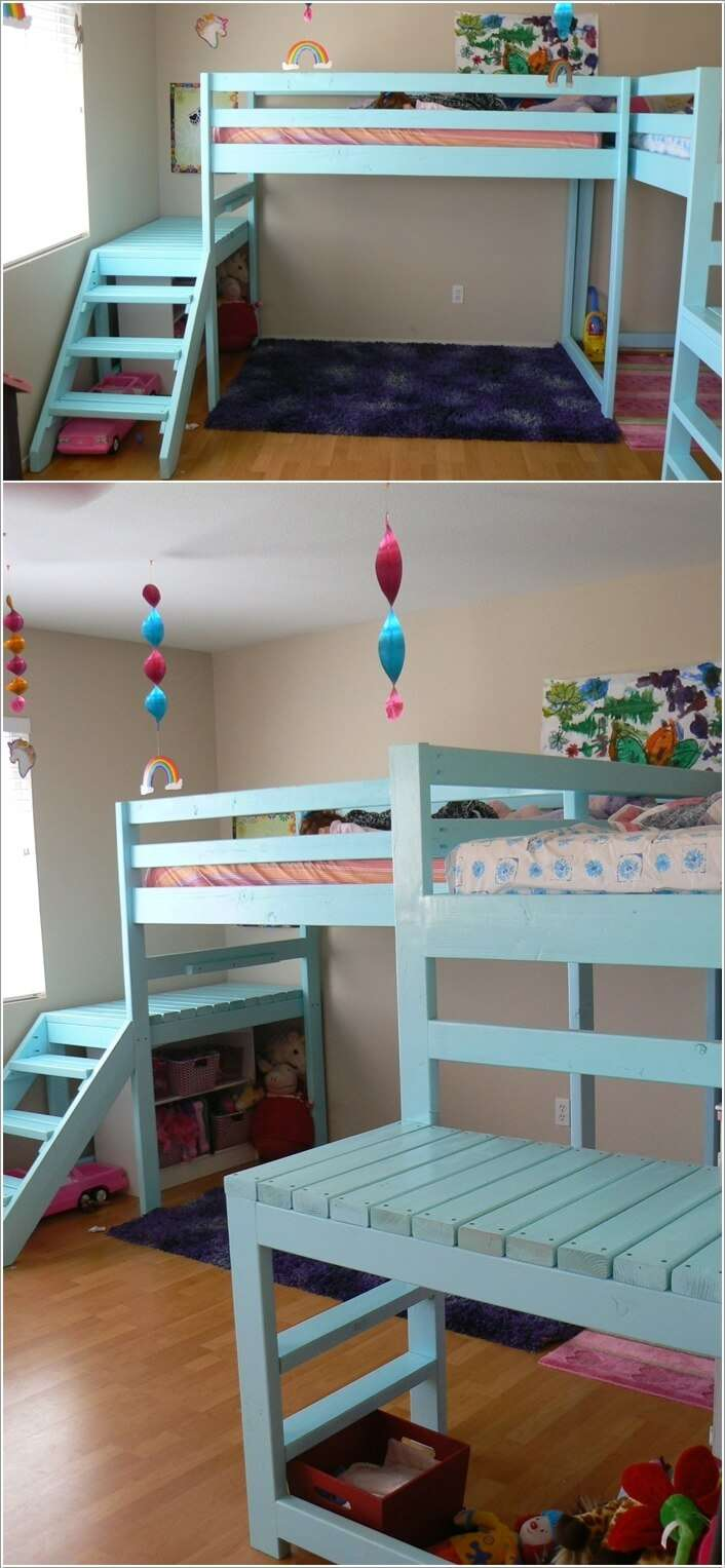 8  10 Amazing DIY Loft Bed Designs for Your Kids' Room 8