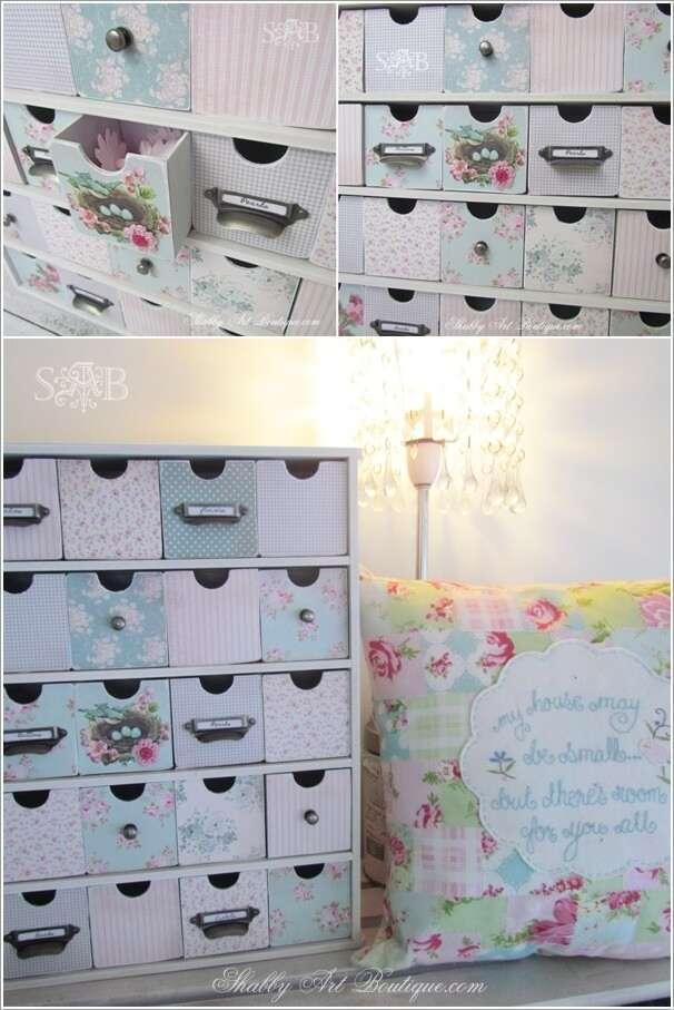 9  15 Wonderful Shabby Chic Home Storage Ideas 917